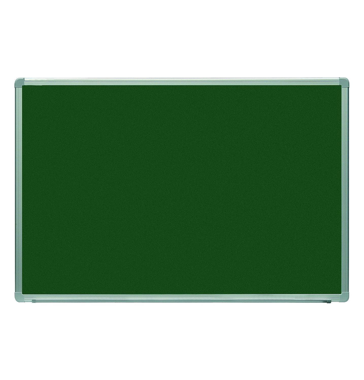 Pizarra Rocada vitrificada verde marco de aluminio 200x120 ...