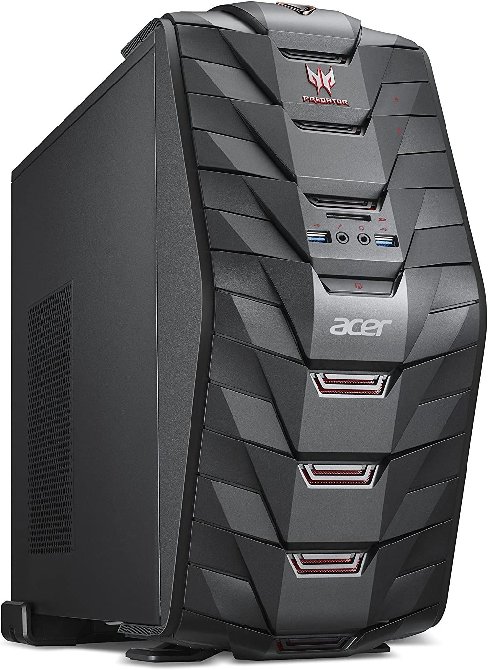NEW Acer Predator G3 High Performance Gaming Tower Desktop, Intel Core i7-7700 8M Cache, up to 4.2GHz , 32GB DDR4, 1TB HDD, 256GB SSD, NVIDIA GeForce GTX 1070, HDMI, USB 3.0, Bluetooth 4.0, Win 10