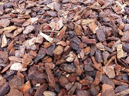 70 L Premium Pino Mantillo Mantillo Dekor corteza 25 de suelos – 45 mm: Amazon.es: Jardín