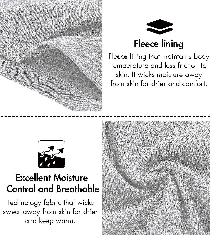 LAPASA Womens Thermal Underwear Long John Set Fleece Lined Base Layer Top /& Bottom L17