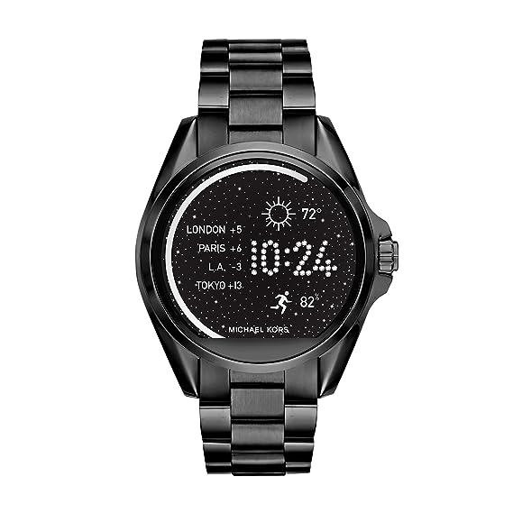 88170ad6b68f46 Michael Kors Smartwatch Donna con Cinturino in Acciaio Inossidabile  MKT5005: Amazon.it: Orologi