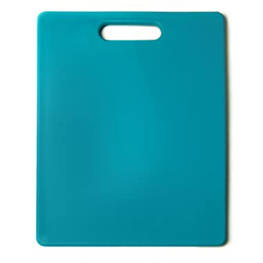 Architec Original Gripper Cutting Board, 11  by 14 , Turquoise, Patented Non-Slip Technology and Dishwasher Safe Cutting Board