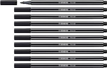 STABILO Pen 68 Premium-Filzstift schwarz