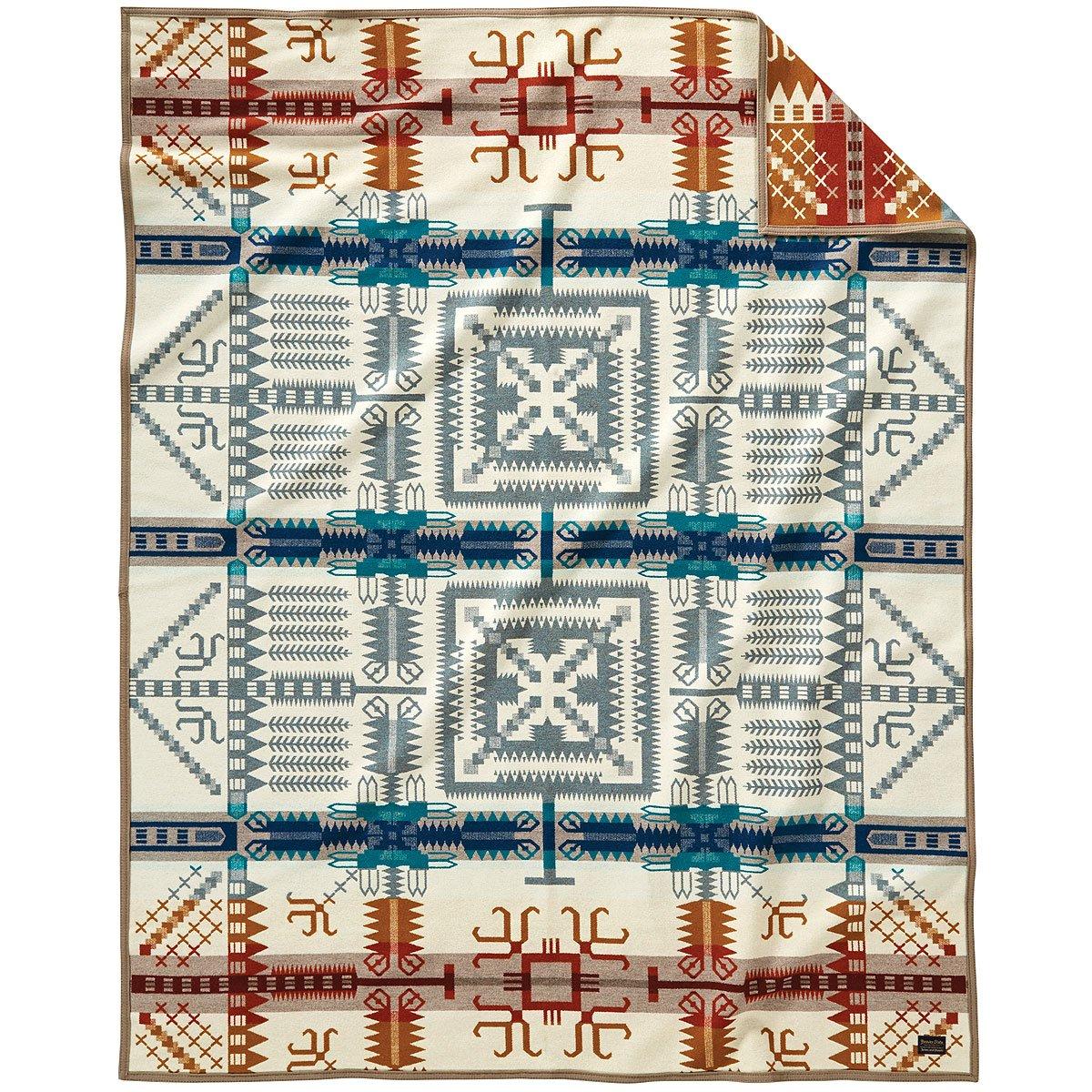 Pendleton Birch Path Wool Blanket, King