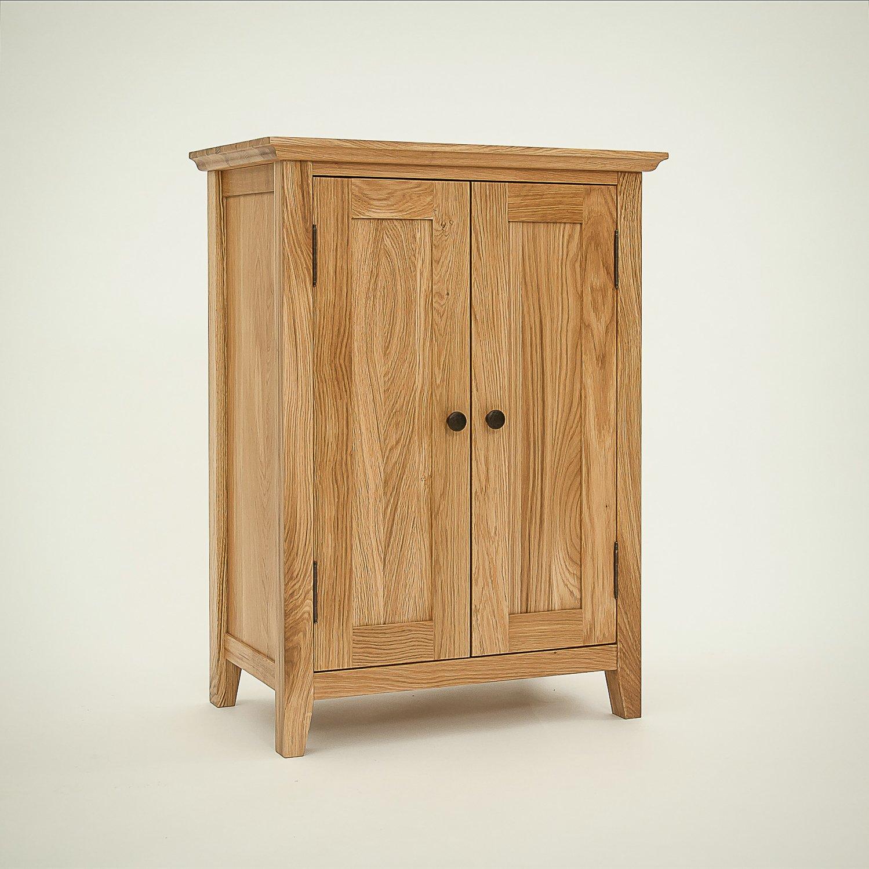 rustic storage cabinets. Hereford Rustic Solid Oak 2 Door Cupboard/Shoe Cabinet: Amazon.co.uk: Kitchen \u0026 Home Storage Cabinets