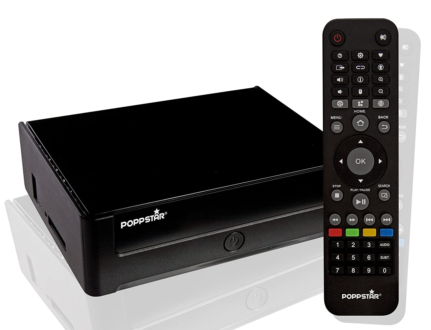 Poppstar MS40 Media Player Full HD, Nero 1001373