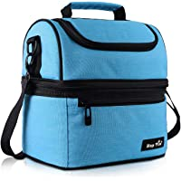 Hap Tim Lunch Box Insulated Lunch Bag Large Cooler Tote Bag for Adult,Men,Women,Kid, Double Deck Cooler for Office…