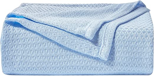 Cooling Blanket Queen Size,100% Bamboo Summer Blankets for Hot Sleepers to Keep Cool,Lightweight Blanket for Bed Couch All Season Use(79