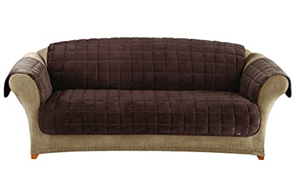 Merveilleux Sure Fit Deluxe Pet Cover   Sofa Slipcover   Chocolate (SF39230)