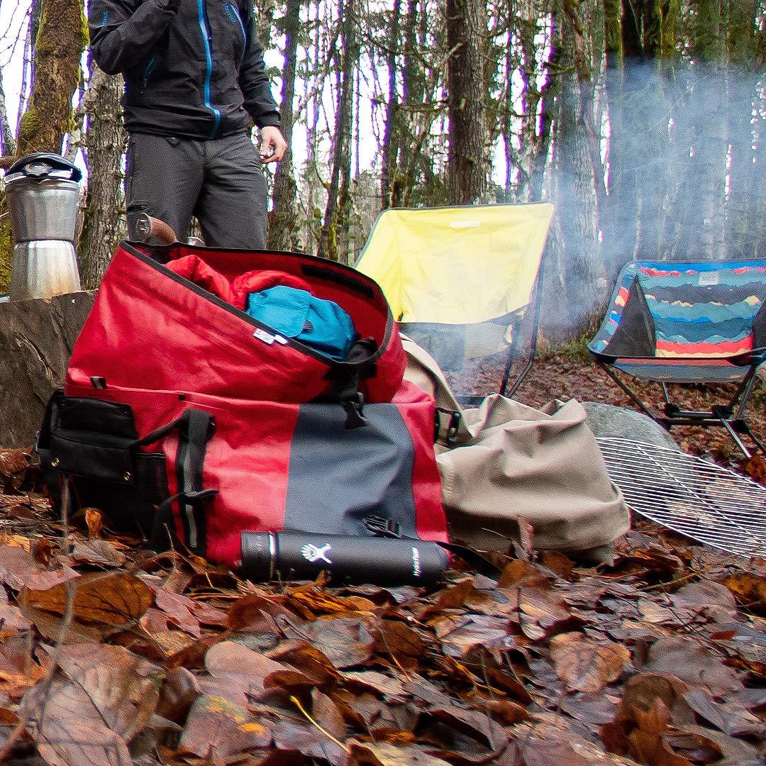 Gray or Camo 100/% Waterproof 100 L Bag Durable External Pockets Black Blue Lightweight Red Charcoal Aqua Quest White Water Duffel