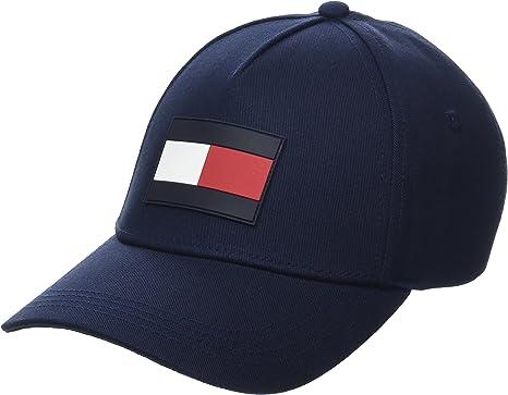 Tommy Hilfiger TH Flag Cap Gorra de béisbol, Azul (Tommy Navy 413 ...