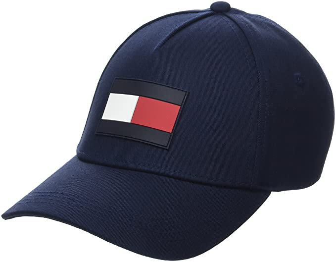 8a7f0f83e9 Tommy Hilfiger Men's Th Flag Baseball Cap, Blue (Tommy Navy 413), One