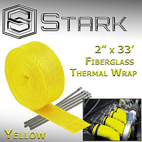 Stark Thermal Fiberglass Heat Shield Exhaust Wrap