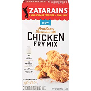 Zatarain's Southern Buttermilk Chicken Fry Mix, 9 oz