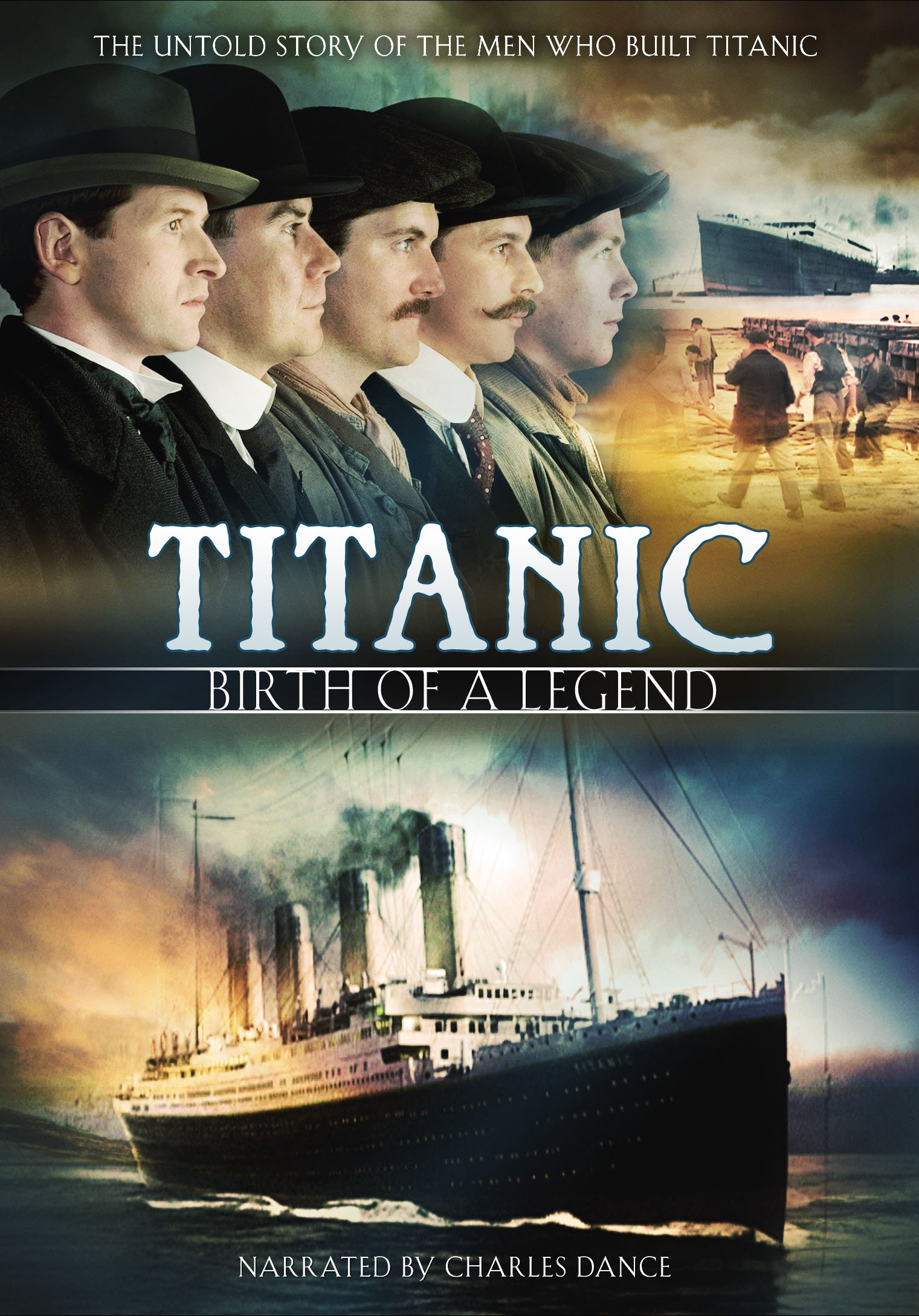 DVD : Titanic: Birth Of A Legend (Subtitled)
