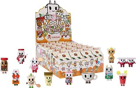 New Open Box Tokidoki Moofia Breakfast Friends Nana Yogurt Vinyl Mini Figure