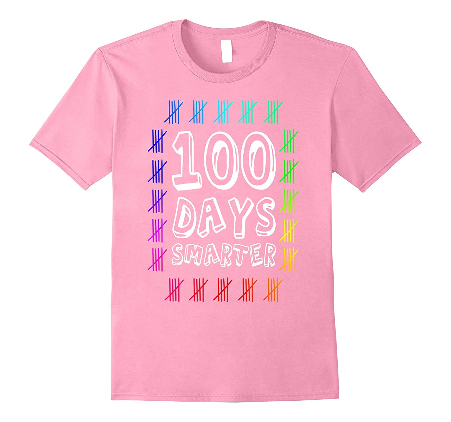 100 Days Smarter Shirt 100th Day of School Boys & Girls Gift-RT