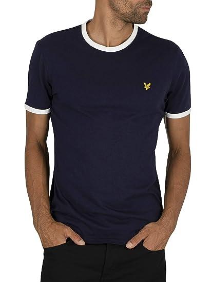 Lyle & Scott Ringer T-Shirt Camiseta para Hombre: Amazon.es: Ropa ...