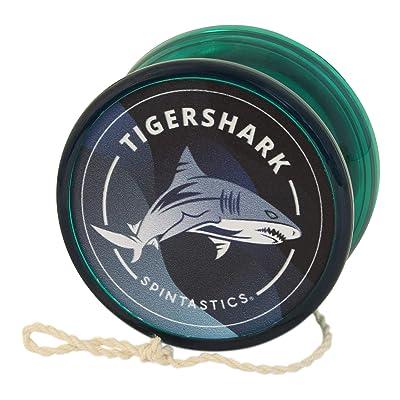 Green Spintastics Tigershark Professional Ball Bearing Yoyo with String: Toys & Games