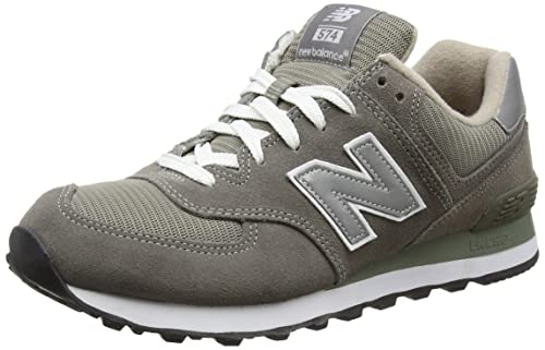 NEW Balance M574 Men's Low Top Scarpe Da Ginnastica Blu Navy 8 UK 42 EU