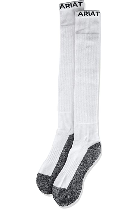 ARIAT Men's Full Cushion Over The Calf Cowboy Socks