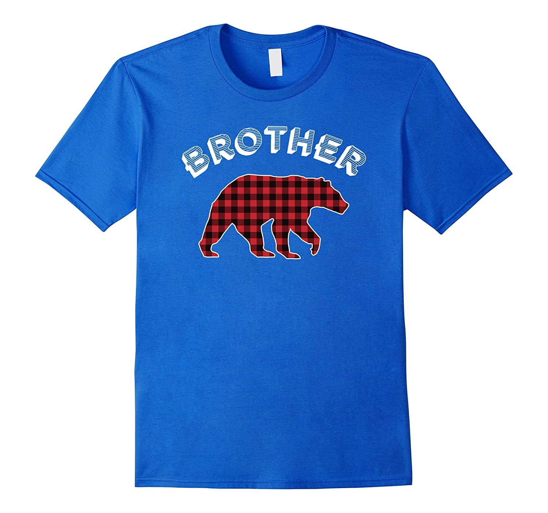 Brother Bear Checkered Plaid Tshirt-Teeae