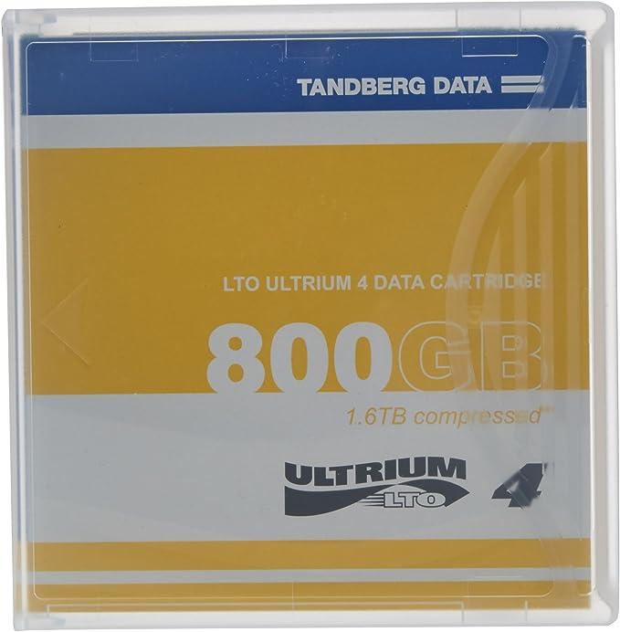 Tandberg Lto 4 Ultrium With Case 433781 Computer Zubehör