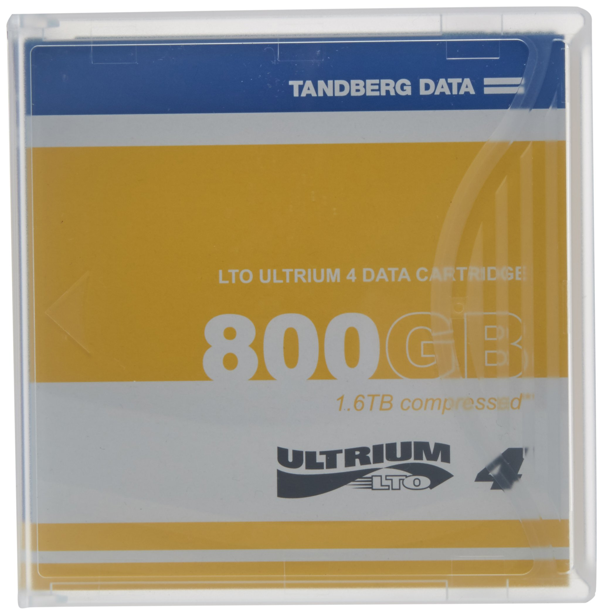 TANDBERG DATA LTO Ultrium 4 Storage Media Tape Cartridge (433781)