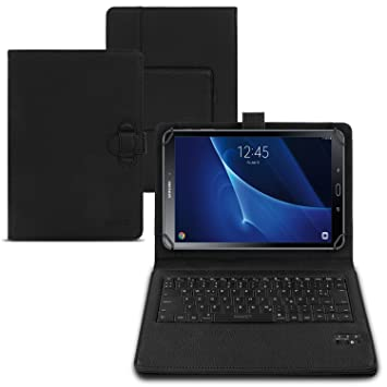 competitive price f1527 de1e2 Bluetooth keyboard case Samsung Galaxy Tab A6 10.1 tablet sleeve ...