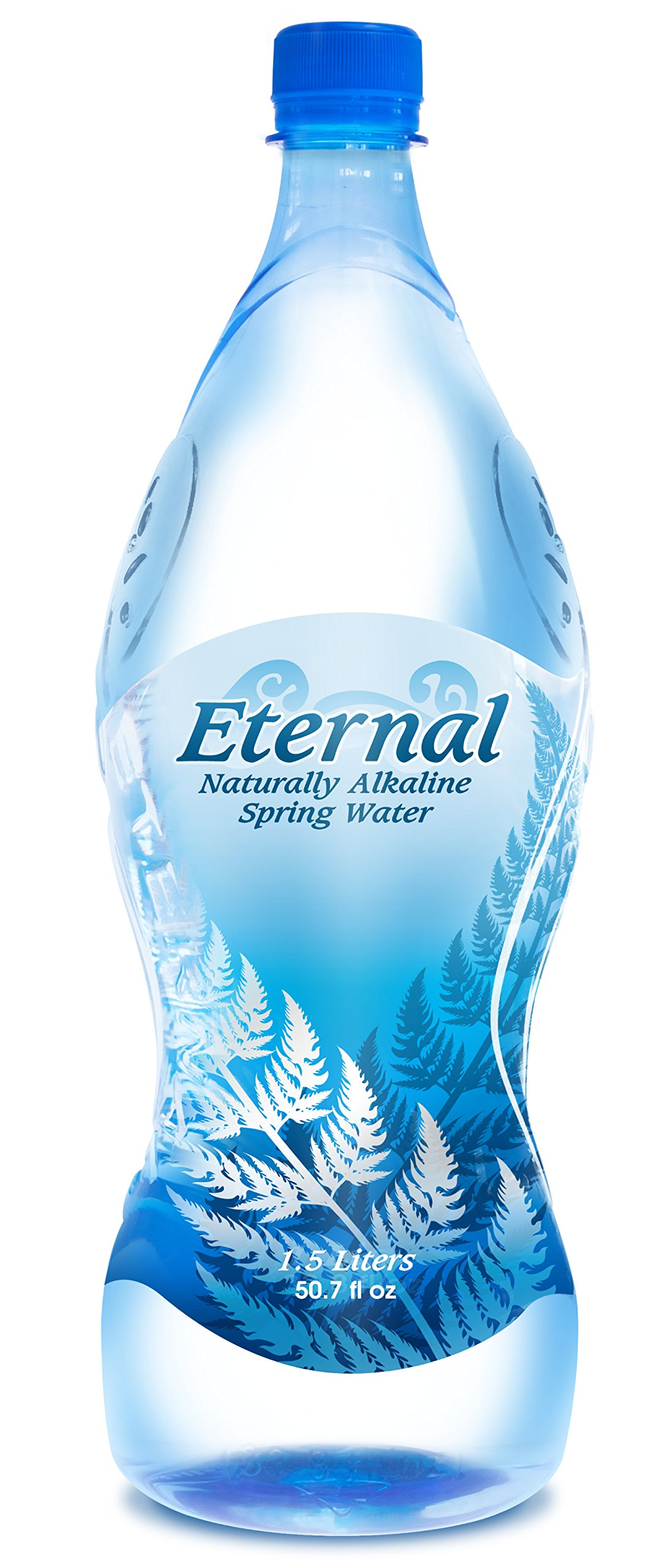 Eternal Naturally Alkaline Spring Water, 50.7-Ounce (Pack of 12) by Unknown
