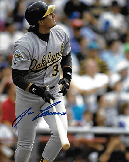 big sale 7e8d2 67dc3 Jose Canseco, Oakland A's, Signed, Autographed, 8X10 Photo ...