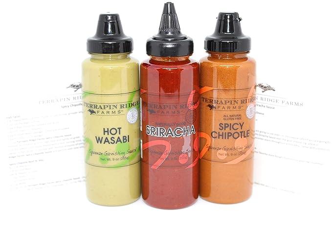 Terrapin Ridge Farms Spicy Garnish Sampler Pack de 3 ...