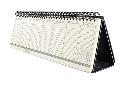 SIGEL C2080 Calendario de escritorio 2020 Conceptum, tapa ...