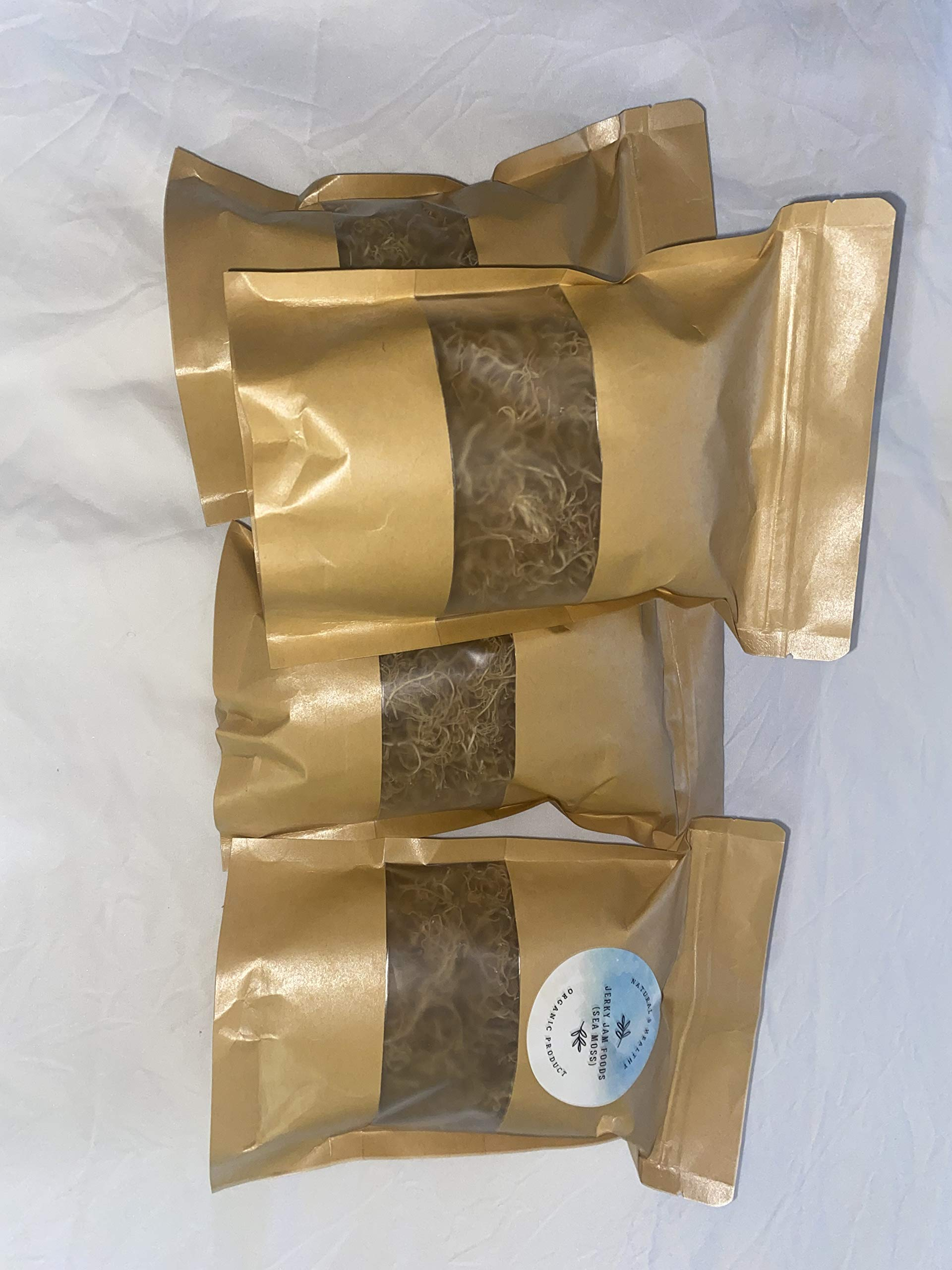 SEA MOSS (RAW) 2 lb - NATURAL IRISH MOSS,CHONDRUS CRISPUS,Jamaica Drink Below