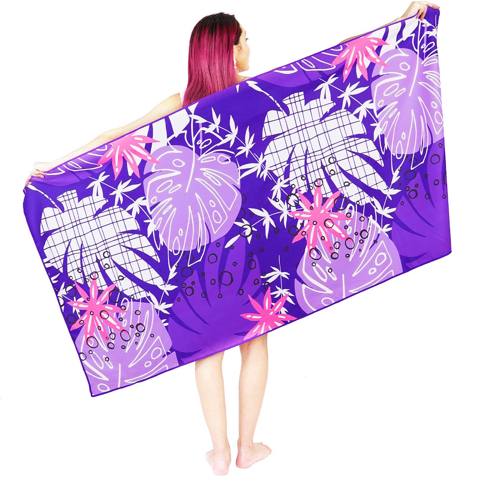 Oversized Beach Towel Microfiber Cotton Sand Free Large Super Absorbent Quick Dry