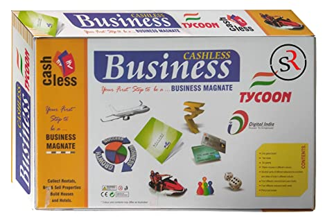 Buy Playtime Cashless Business Tycoon A Board Game of Buying