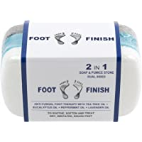 Athletes Foot Treatment Pumice Stone for Itchy Feet by Love Lori - 2 in 1 AntiFungal Foot Soap and Callus Remover – Tea…