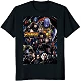 Marvel Avengers Infinity War Group Poster Graphic T-Shirt