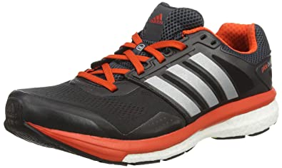 info for 686cd 0f107 adidas Supernova Glide Boost 7, Men s Running Shoes, Grey - Grau (Boo Dkgrey