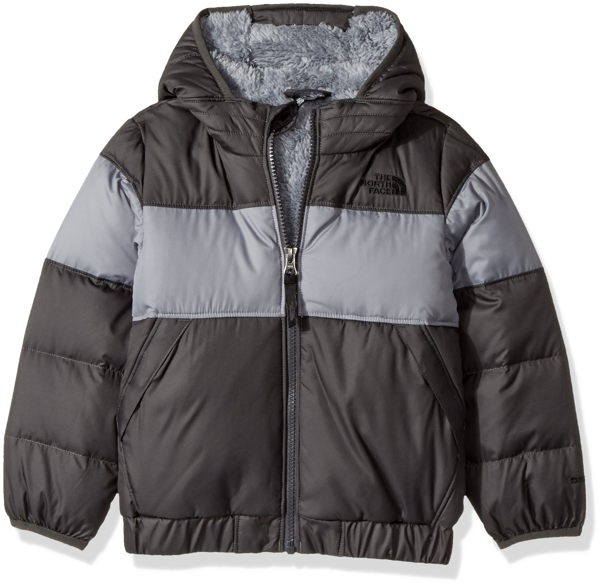 The North Face Toddler Boys Moondoggy 2.0 Down Jacket - Graphite Grey - 4T