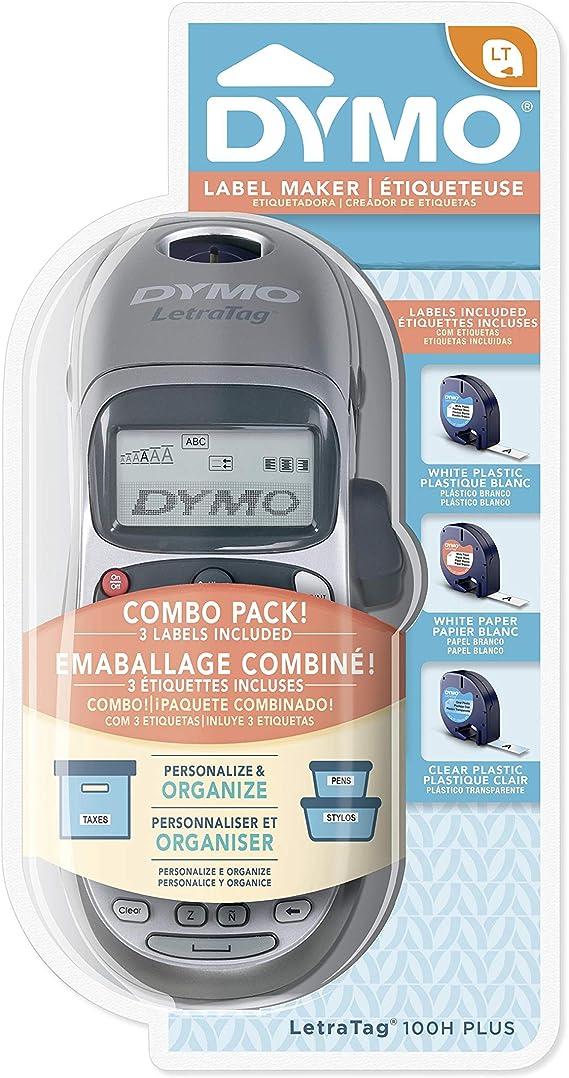 NUEVO Etiquetadora Dymo Etiquetas Impresora de Etiquetas DYMO LetraTag LCD NEW