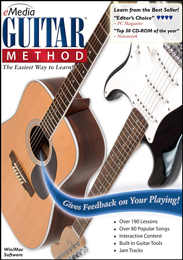 Amazon Emedia Guitar Method V60 With Bonus Pitchboy Mini