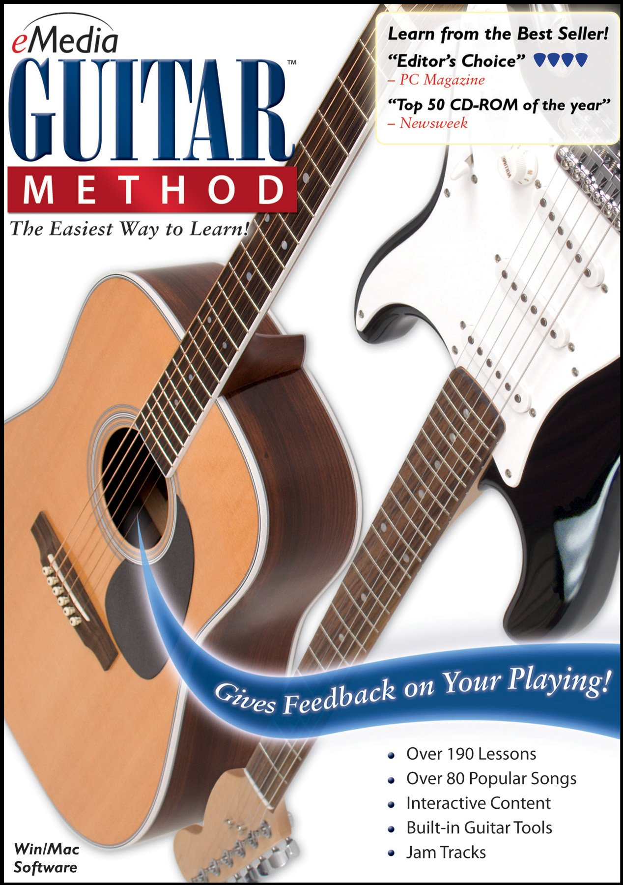 eMedia Guitar Method v6 [PC Download] by eMedia Music