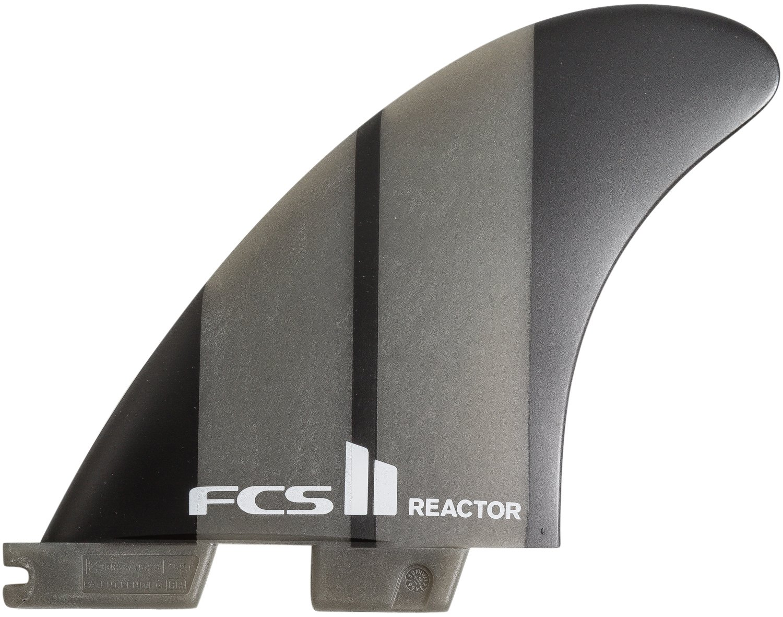 FCS II Reactor Neo Glass Charcoal Medium Tri Fins