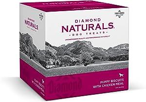 Diamond Naturals 9071_19_DN P BIS Puppy Diamond Biscuit Dog Treat with Chicken Protein, 19lb