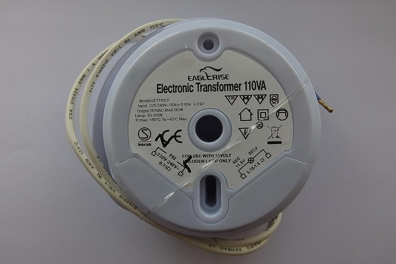 3 YEAR GUARANTEE! by CS Range EAGLERISE SET110CS ELECTRONIC TRANSFORMER FREE UK P+P!!