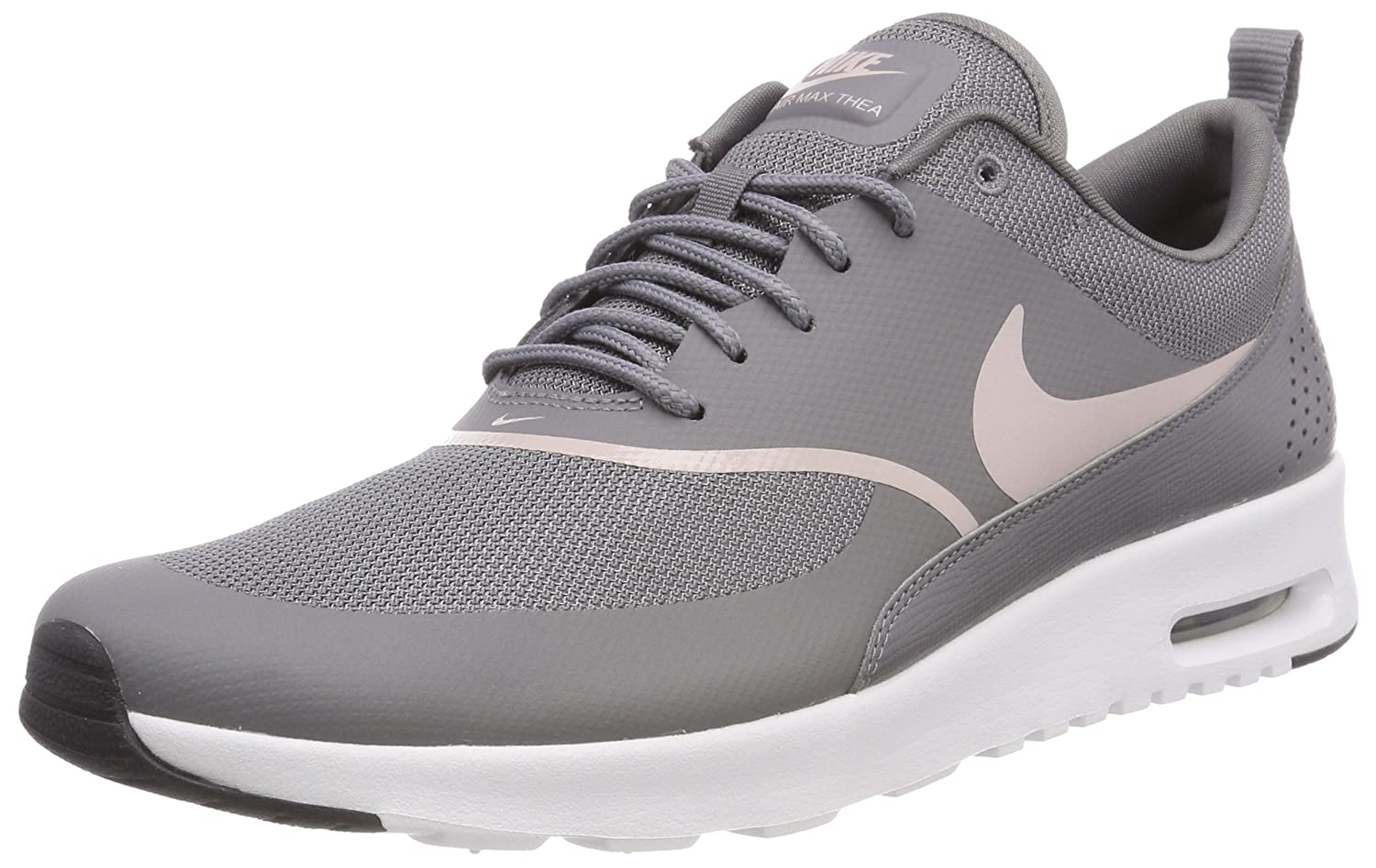 Nike Women's Air Max Thea GunsmokeParticle Rose Black Running Shoe 7.5 Women US
