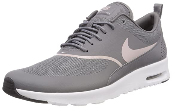 online store 634b4 b68eb Amazon.com   Nike Women s Air Max Thea Gunsmoke Particle Rose Black Running  Shoe 7.5 Women US   Road Running