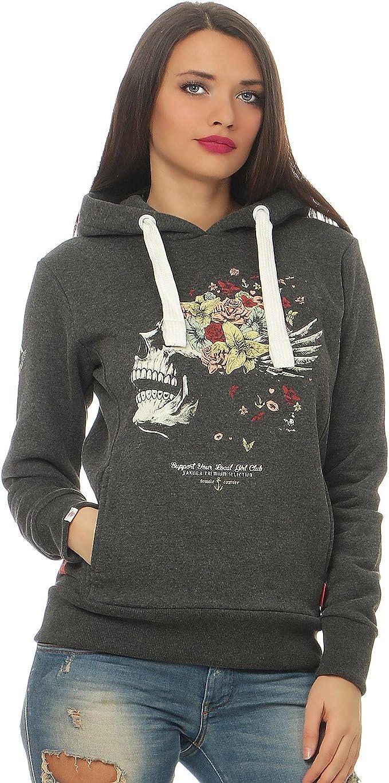 Yakuza Premium Damen Sweatshirt GH 2150 anthrazit | YAKUZA
