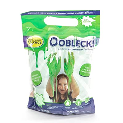 Steve Spangler Science Oobleck Mix, 16 oz Powder Packets, Green Slime – Science Kits for Kids, Safe, Non-Toxic, Environmentally Friendly, Encourages Creative STEM Learning for Classrooms or Home: Industrial & Scientific [5Bkhe1206654]